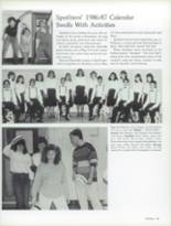 1987 Craig High School Yearbook Page 88 & 89