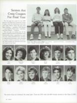 1987 Craig High School Yearbook Page 134 & 135