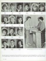 1987 Craig High School Yearbook Page 154 & 155