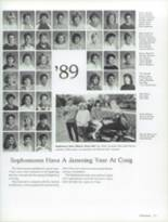 1987 Craig High School Yearbook Page 180 & 181