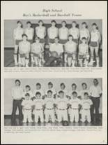 1975 Bokoshe High School Yearbook Page 54 & 55