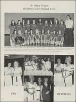 1975 Bokoshe High School Yearbook Page 58 & 59