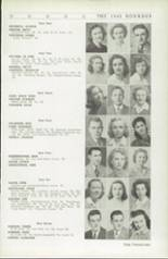 1942 Roosevelt High School Yearbook Page 32 & 33
