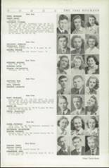1942 Roosevelt High School Yearbook Page 36 & 37