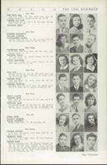 1942 Roosevelt High School Yearbook Page 42 & 43