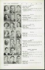 1942 Roosevelt High School Yearbook Page 44 & 45
