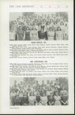 1942 Roosevelt High School Yearbook Page 50 & 51