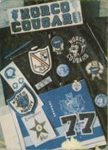 1977 Yearbook Norco High School
