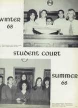1968 Woodrow Wilson High School Yearbook Page 96 & 97
