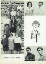 1968 Woodrow Wilson High School Yearbook Page 106 & 107