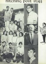 1968 Woodrow Wilson High School Yearbook Page 108 & 109