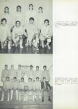 1968 Woodrow Wilson High School Yearbook Page 134 & 135