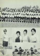 1968 Woodrow Wilson High School Yearbook Page 152 & 153