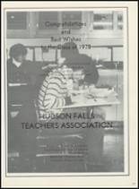 1978 Hudson Falls High School Yearbook Page 176 & 177