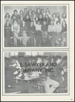 1978 Hudson Falls High School Yearbook Page 186 & 187