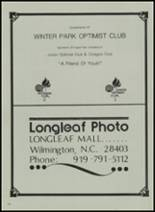 1982 Cape Fear Academy Yearbook Page 122 & 123