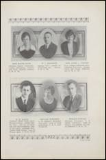 1922 Plainview High School Yearbook Page 12 & 13