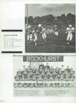 1975 Rockhurst High School Yearbook Page 104 & 105