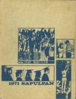 1971 Yearbook Sapulpa High School