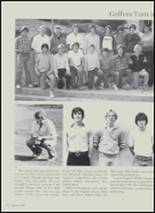 1981 Charlotte High School Yearbook Page 54 & 55