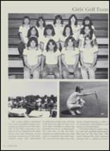 1981 Charlotte High School Yearbook Page 56 & 57