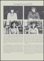 1981 Charlotte High School Yearbook Page 100 & 101