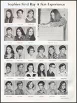 1973 W.B. Ray High School Yearbook Page 98 & 99