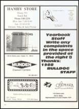 1989 Clyde High School Yearbook Page 184 & 185