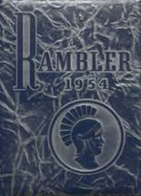 1954 Yearbook Laurel High School
