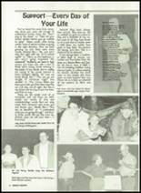 1985 Miles High School Yearbook Page 12 & 13