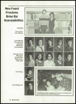 1985 Miles High School Yearbook Page 32 & 33