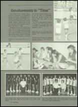 1985 Miles High School Yearbook Page 82 & 83