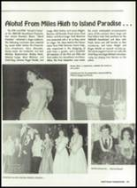 1985 Miles High School Yearbook Page 106 & 107