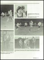 1985 Miles High School Yearbook Page 108 & 109