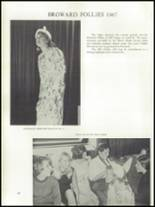 1967 South Broward High School Yearbook Page 260 & 261