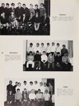 1969 Roosevelt High School Yearbook Page 124 & 125