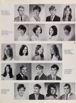 1969 Roosevelt High School Yearbook Page 166 & 167