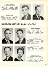 1963 Haddon Heights High School Yearbook Page 112 & 113