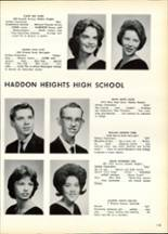 1963 Haddon Heights High School Yearbook Page 116 & 117