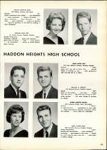 1963 Haddon Heights High School Yearbook Page 136 & 137