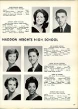 1963 Haddon Heights High School Yearbook Page 140 & 141
