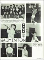 1986 Baldwin Park High School Yearbook Page 180 & 181