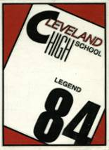 1984 Yearbook Cleveland High School