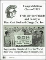 2003 Sturgis High School Yearbook Page 256 & 257