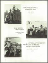 1972 South Pasadena High School Yearbook Page 162 & 163