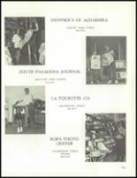 1972 South Pasadena High School Yearbook Page 168 & 169