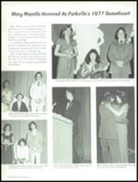 1977 Parkville High School Yearbook Page 66 & 67