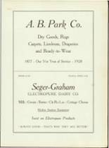 1928 Adrian High School Yearbook Page 130 & 131