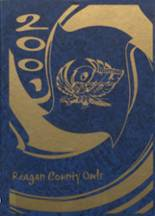 2001 Yearbook Reagan County High School