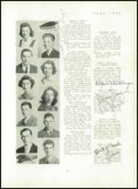 1940 Mt. Pleasant High School Yearbook Page 12 & 13